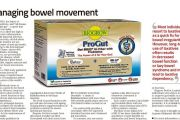 ProGut: Managing Bowel Movement