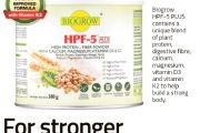HPF-5 PLUS: For Stronger Muscles and Bones