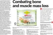 HPF-5 PLUS: Combating Bone And Muscle Mass Loss