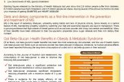 Oat BG22: Metabolic Syndrome in Malaysia